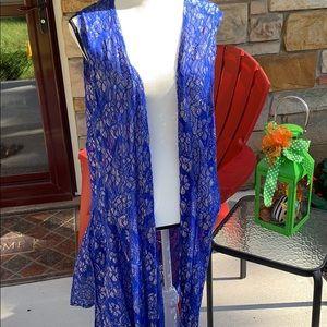 XL LuLaRoe Elegant Joy Duster Vest